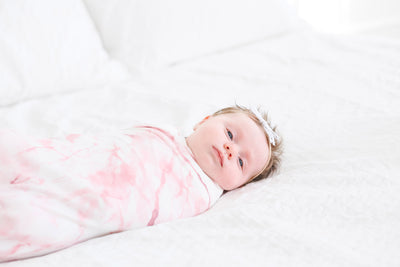 Knit Swaddle Blanket - Roxy