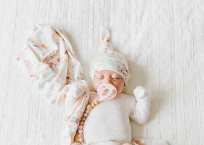 Knit Swaddle Blanket - Enchanted