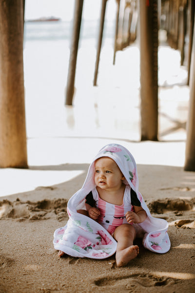 Premium Knit Hooded Towel - Grace