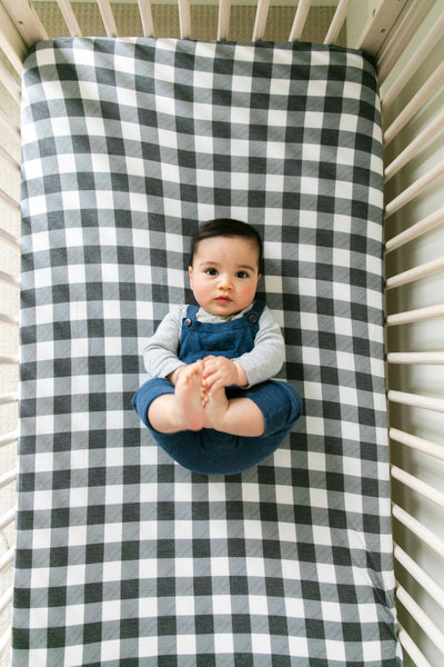 Premium Knit Fitted Crib Sheet - Scotland