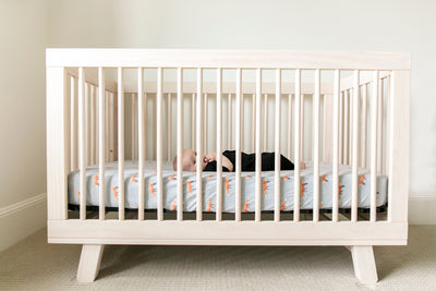 Premium Knit Fitted Crib Sheet - Swift
