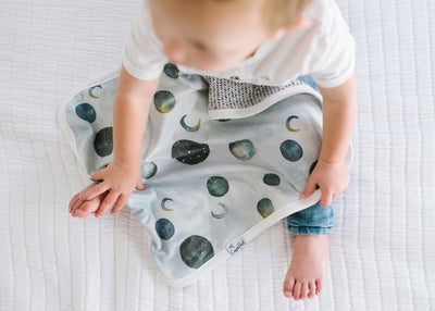 Three-Layer Security Blanket Set - Lunar