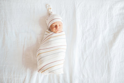Knit Swaddle Blanket - Piper