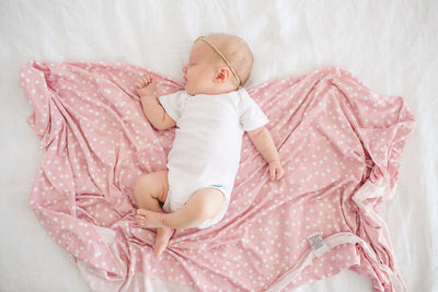 Knit Swaddle Blanket - Lucy
