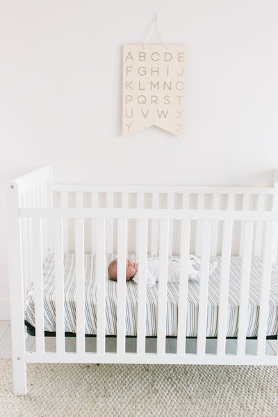 Premium Knit Fitted Crib Sheet - Midtown