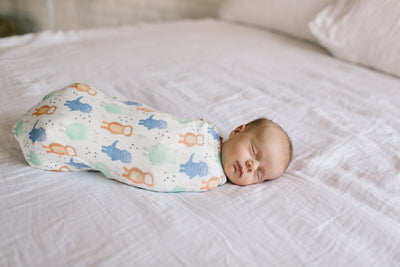 Knit Swaddle Blanket - Max