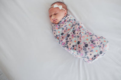 Knit Swaddle Blanket - Morgan