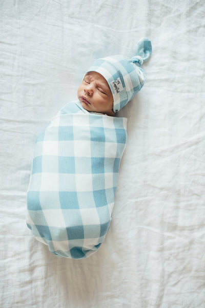 Knit Swaddle Blanket - Lincoln