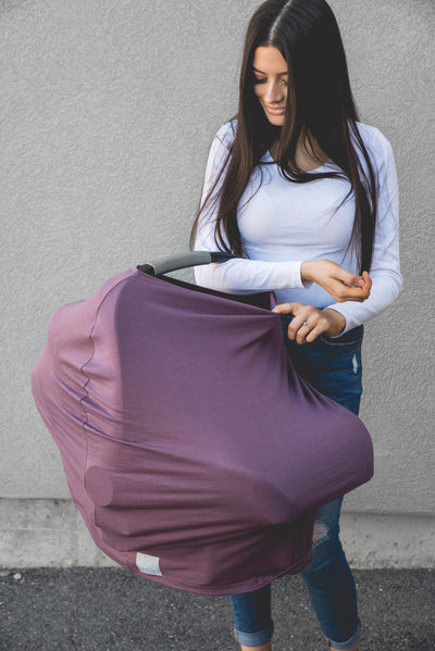 Multi-Use Cover - Plum