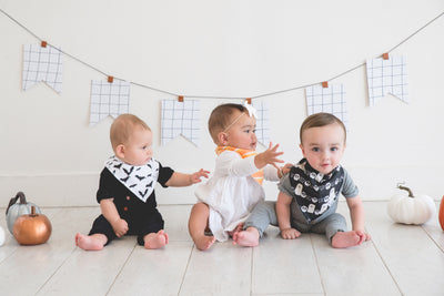 Baby Bandana Bibs - Wicked