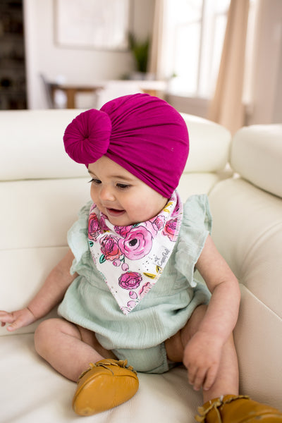 Baby Bandana Bibs - Bloom