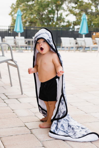 Premium Knit Hooded Towel - Gunnar