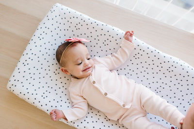Premium Knit Diaper Changing Pad Cover - Willow