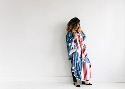 Three-Layer Jumbo Quilt - Patriot