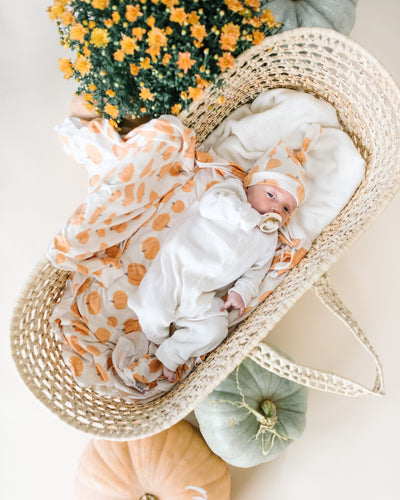 Knit Swaddle Blanket - Patch