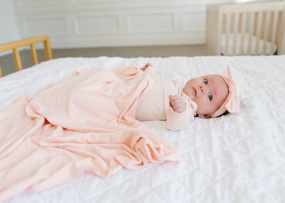 Knotted Gown - Blush