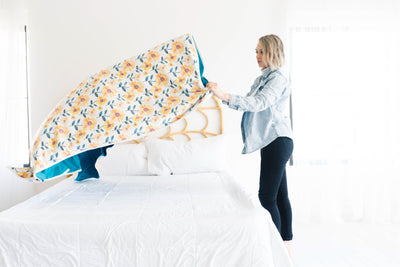 Three-Layer Jumbo Quilt - Sunnie