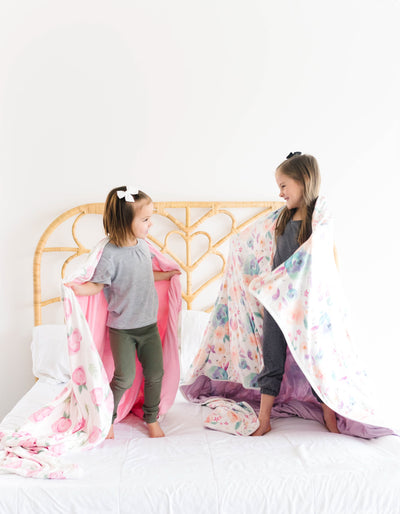 Three-Layer Jumbo Quilt - Bloom