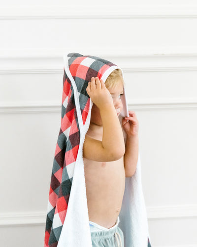 Premium Knit Hooded Towel - Jack