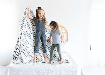 Three-Layer Jumbo Quilt - Wild