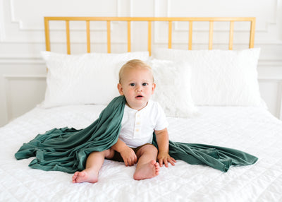 Knit Swaddle Blanket - Journey