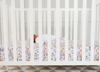 Premium Knit Fitted Crib Sheet - Autumn