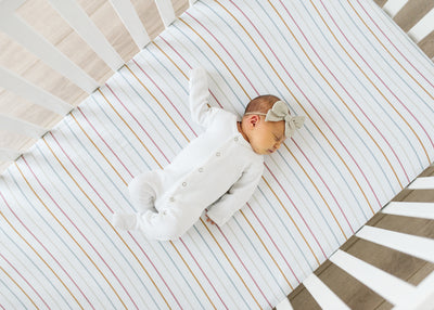 Premium Knit Fitted Crib Sheet - Piper