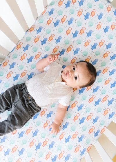 Premium Knit Fitted Crib Sheet - Max