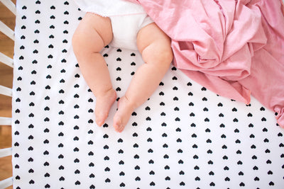 Cotton Fitted Crib Sheet - Smitten