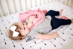 Knit Swaddle Blanket - Darling Set of 2 - Copper Pearl - 3