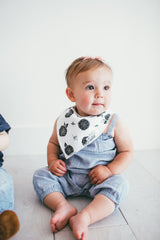 Baby Bandana Bibs - Willow - Copper Pearl - 12