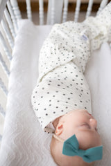 Knit Swaddle Blanket - Willow