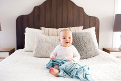 Knit Swaddle Blanket - Sonny Set of 2