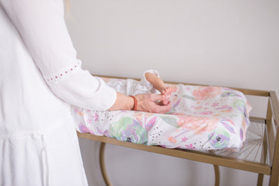 Diaper Changing Pad Cover - Bloom