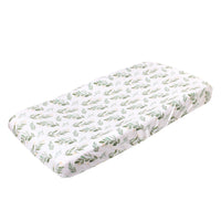 Premium Knit Diaper Changing Pad Cover - Fern
