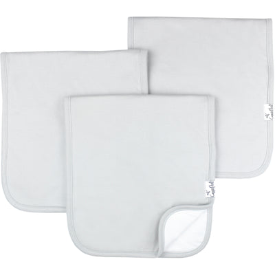 Premium Burp Cloths - Gray Basics