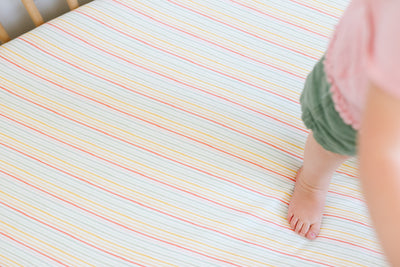 Premium Knit Fitted Crib Sheet - Rainee