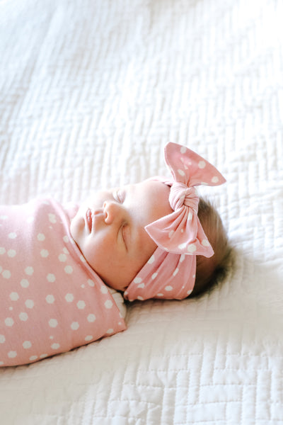Knit Headband Bow - Lucy
