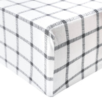 Premium Knit Fitted Crib Sheet - Ledger