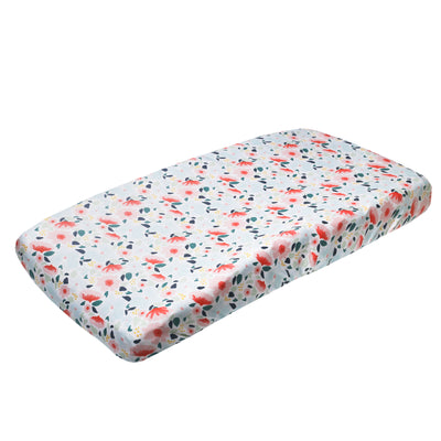 Premium Knit Diaper Changing Pad Cover - Leilani