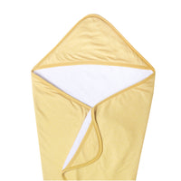 Premium Knit Hooded Towel - Marigold