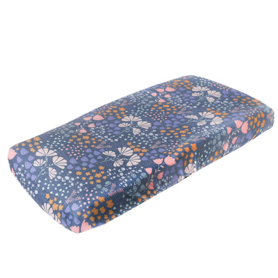 Premium Knit Diaper Changing Pad Cover - Meadow