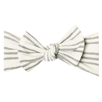 Knit Headband Bow - Midtown