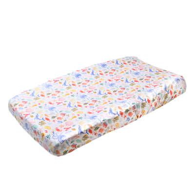 Premium Knit Diaper Changing Pad Cover - Nautical