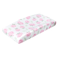 Premium Knit Diaper Changing Pad Cover - Grace