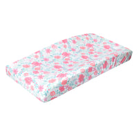 Premium Knit Diaper Changing Pad Cover - June
