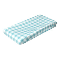 Premium Knit Diaper Changing Pad Cover - Lincoln