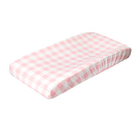 Premium Knit Diaper Changing Pad Cover - London