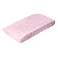Premium Knit Diaper Changing Pad Cover - Lucy