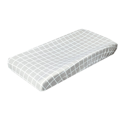 Premium Knit Diaper Changing Pad Cover - Midway